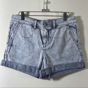 Chino by Anthropologie Relaxed Shorts Acid Wash